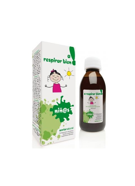 A Respirar bien jarabe Infantil Soria Natural