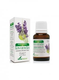 Aceite Esencial Lavanda 15 ml Soria Natural