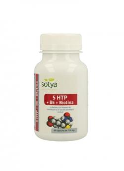 5-HTP + B6 + Biotina 60 cápsulas Sotya