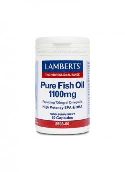 Aceite de Pescado Puro 60 cápsulas Lamberts