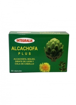 Alcachofa Plus 60 cápsulas Integralia