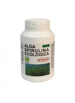 Alga Spirulina Ecológica 100 cápsulas Integralia