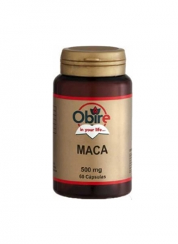 Maca 60 cápsulas 500 mg Obire