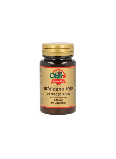 Arandano Rojo 60 capsulas de 200 mg Obire