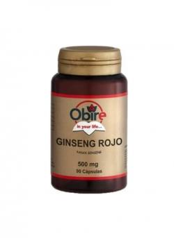 Ginseng Rojo 90 cápsulas 500 mg Obire