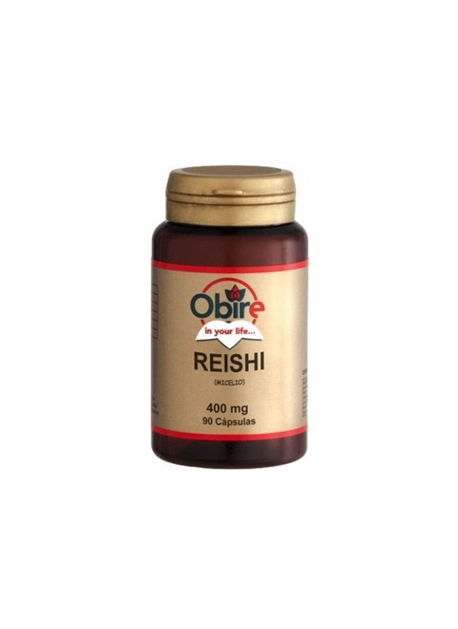 Reishi 90 capsulas 400 mg Obire