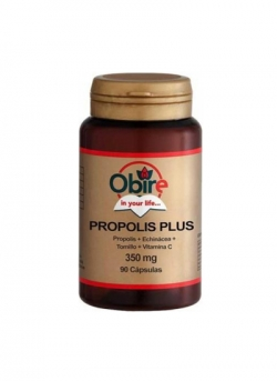 Própolis Plus 90 cápsulas de 400 mg Obire