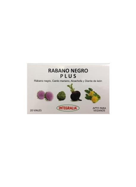 Rabano Negro Plus 20 viales Integralia