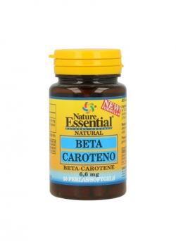 Beta-Caroteno 50 perlas 6,6 mg Nature Essential