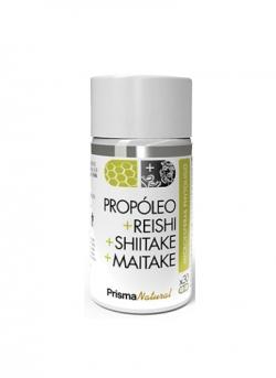 Própoleo + Shiitake + Maitake + Reishi 30 cápsulas PrismaNatural