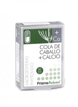 Cola de Caballo + Calcio 30 cápsulas micoresferas PrismaNatural