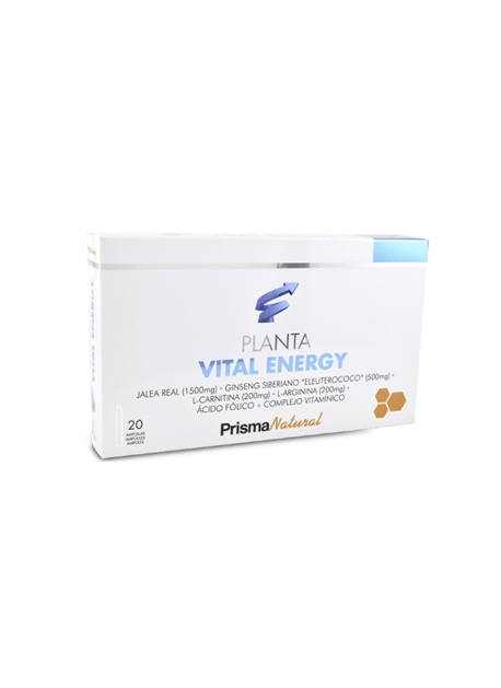 Planta Vital Energy 20 viales 10 ml PrismaNatural