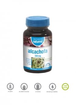 Alcachofa Naturmil 90 comprimidos 500 mg Dietmed