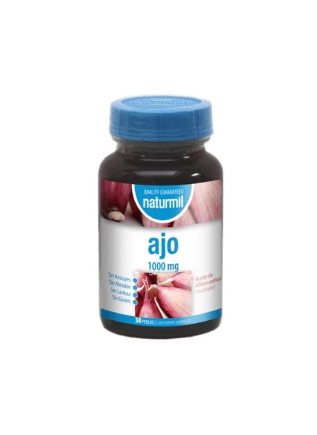 Ajo Naturmil 240 perlas de 500 mg DietMed