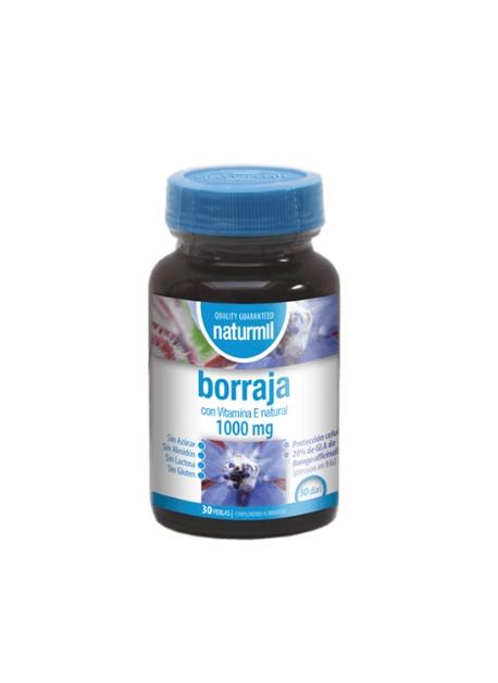 Borraja Naturmil 90 perlas 1000 mg DietMed