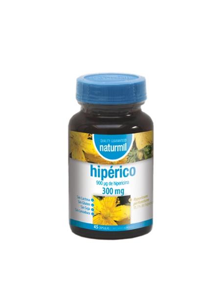 Hipérico Naturmil 45 cápsulas DietMed