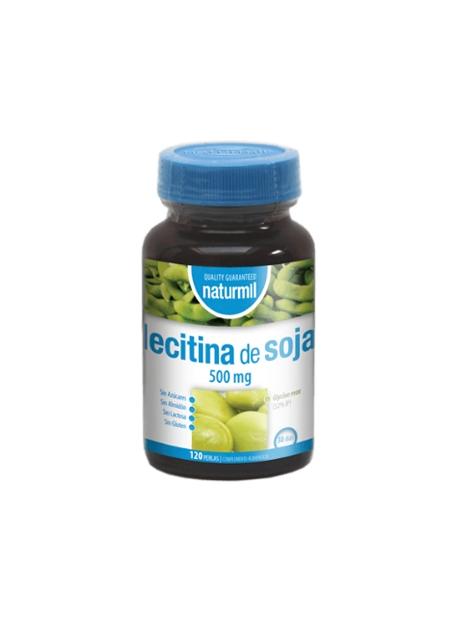 Lecitina de Soja Naturmil 120 perlas 500 mg DietMed