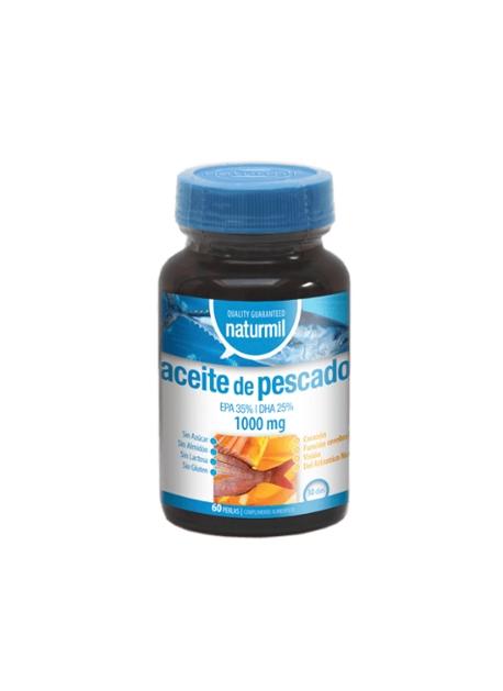 Aceite de Pescado Naturmil 1000 mg 60 perlas DietMed