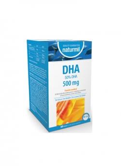 DHA Naturmil 60 perlas 500 mg Dietmed