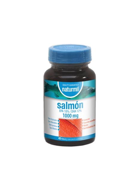 Salmón Naturmil 45 perlas 1000 mg DietMed