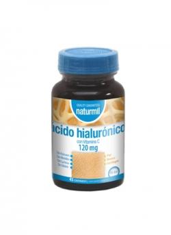 Ácido Hialurónico Naturmil 45 comprimidos Dietmed