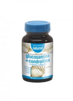 Glucosamina + Condroitina Naturmil 45 cápsulas Dietmed