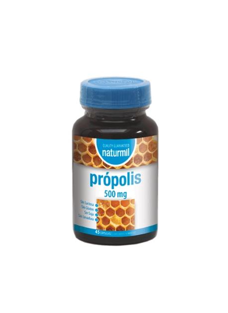 Própolis Naturmil 45 capsulas 500 mg DietMed