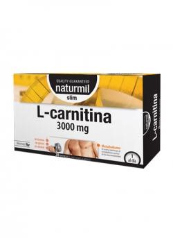 L-Carnitina Slim Naturmil 3000 mg 20 ampollas Dietmed
