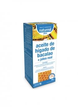 Aceite de Hígado de Bacalao + Jalea Real Plus Naturmil Dietmed