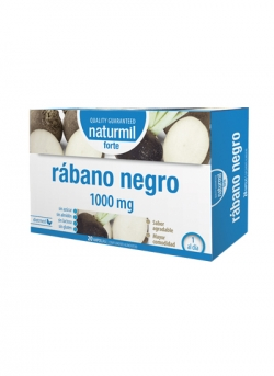 Rábano Negro Forte Naturmil 20 x 15 ampollas DietMed