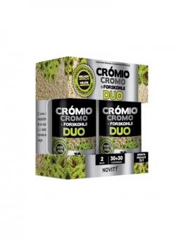 Cromo + Forskohlii Duo 30 + 30 comprimidos Dietmed