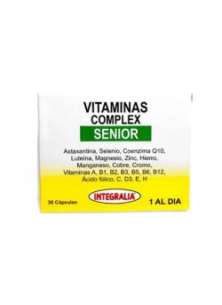 Vitaminas Complex Senior 30 cápsulas Integralia