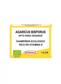 Agaricus Bisporus Ecológico 30 cápsulas Integralia
