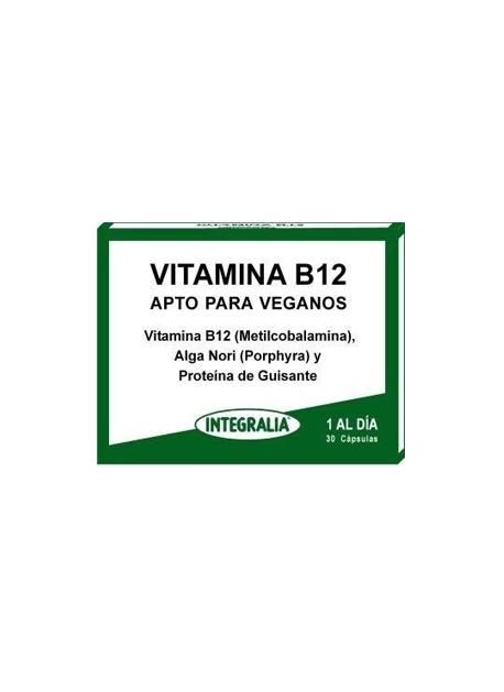 Vitamina B12 30 cápsulas Integralia