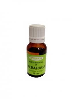 Aceite Esencial Albahaca Ecológico 15 ml Integralia