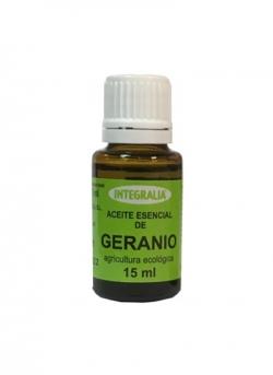 Aceite Esencial Geranio Ecológico 15 ml Integralia