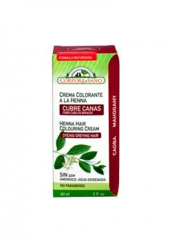 Crema Colorante Henna Caoba 60 ml Corpore Sano