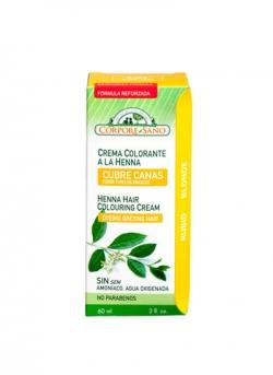 Crema Colorante Henna Rubio 60 ml Corpore Sano