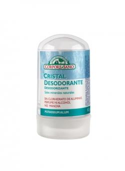 Desodorante Cristal Mineral Alumbre 60 gr Corpore Sano