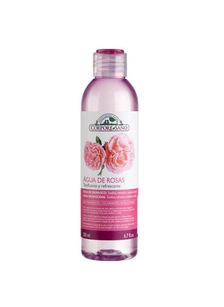 Tónico Agua de Rosas 200 ml Corpore Sano