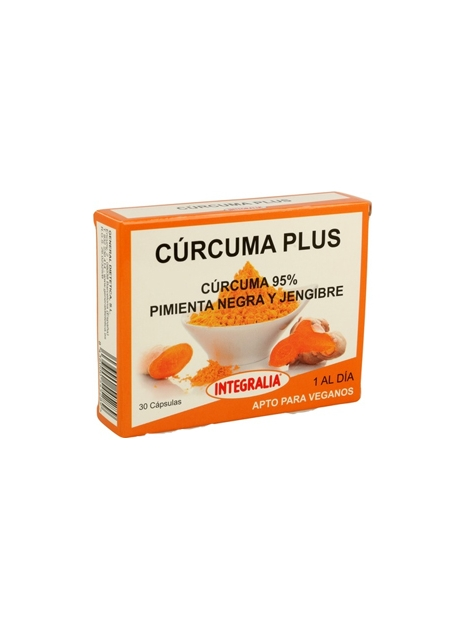 Cúrcuma Plus 30 cápsulas Integralia