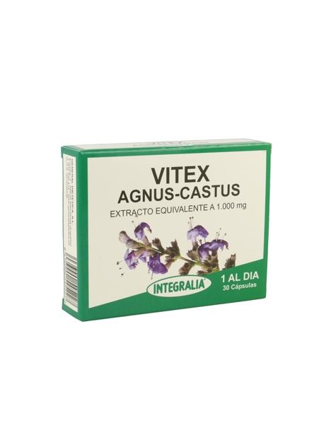 Vitex Agnus-Castus 30 cápsulas Integralia