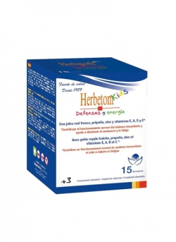 Herbetom Kids Defensas y Energía 15 monodosis Bioserum