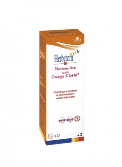 Herbetom Kids Normactive con Omega 3 Bioserum