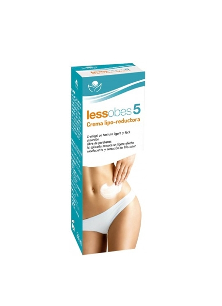 Lessobes 5 Crema Lipo Reductora 200 ml Bioserum