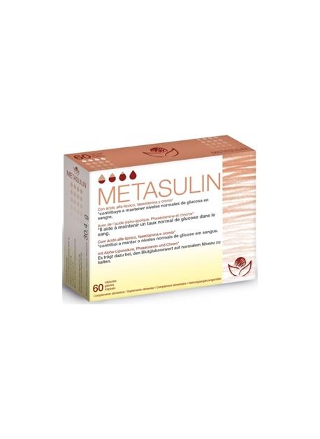 Metasulin 60 cápsulas Bioserum