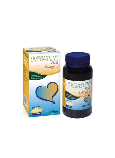 Omegastend Plus - Omega 3 60 perlas Derbós