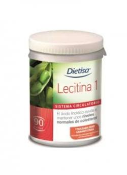 Lecitina 1 90 perlas Dietisa