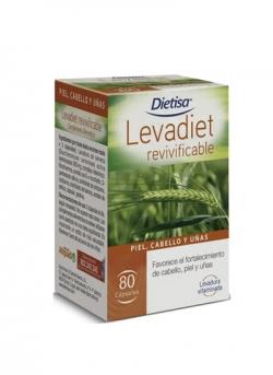 Levadiet Revivificable 80 cápsulas Dietisa