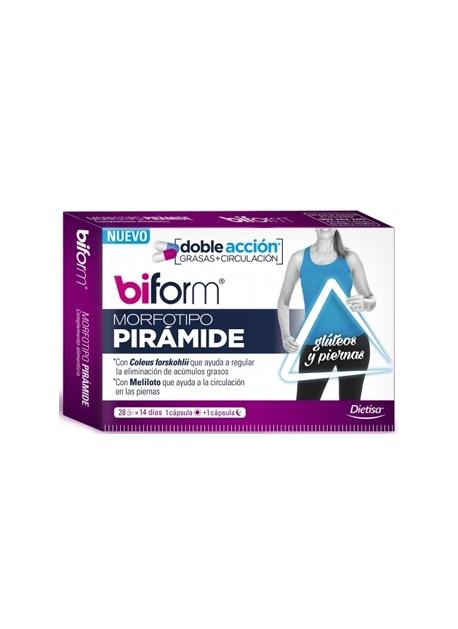 Biform Mofortipo Pirámide 28 cápsulas Dietisa